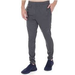 adidas Calça adidas Workout Climalite - Masculina - CINZA ESCURO/PRETO