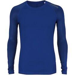 adidas Camisa de Compressão Manga Longa adidas Alphaskin Sport - Masculina - AZUL ESCURO