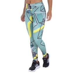 adidas Calça Legging adidas Collab Long - Feminina - AZUL CLA/CINZA