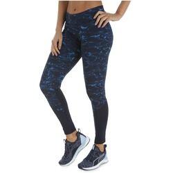 adidas Calça Legging adidas P G L Tight - Feminina - AZUL ESC/AZUL