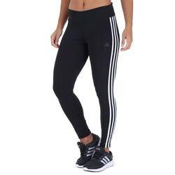 adidas Calça Legging adidas D2M RR 3S I - Feminina - PRETO/BRANCO