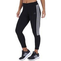 adidas Calça Legging adidas Run 3S Tight - Feminina - PRETO/BRANCO