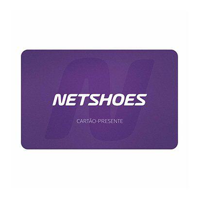 Carto Presente Netshoes R$ 80,00 - Unissex