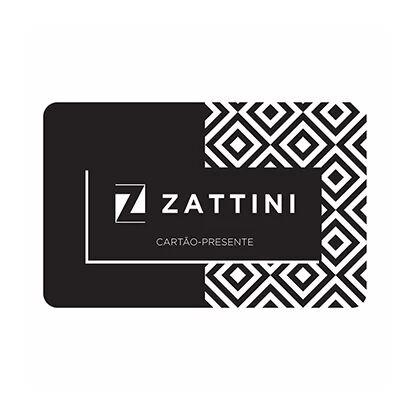 Carto Presente Zattini R$ 120,00 - Unissex