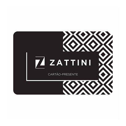 Carto Presente Zattini R$ 200,00 - Unissex