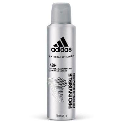 Desodorante Adidas Invisible Aerossol Feminino 150ml - Feminino