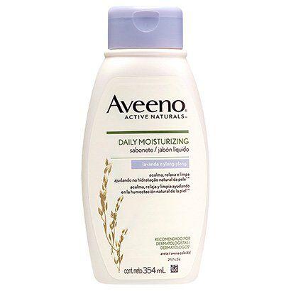 Sabonete Líquido Aveeno Daily Moisturizing Lavanda e Ylang 354ml - Unissex-Incolor