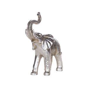 Beliani Dekorativ figur silver TOURINE