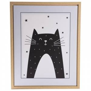 FORM Living Poster with frame Cat One Size