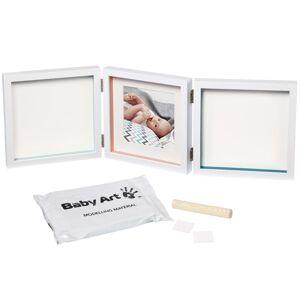 ART Baby Art Dobbel trykkramme My Baby Style hvit