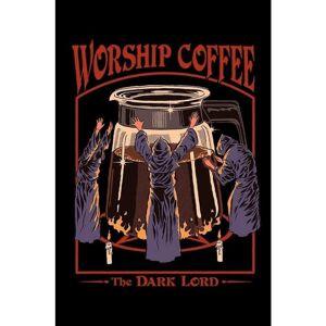 eStore Steven Rhodes, Maxi Poster - Worship Coffee