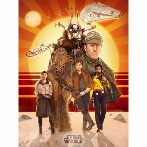 Acme Archives Star Wars Solo  Buckle Up  Zavvi UK Exclusive Print by Teddy Wright IV (18 x 24 Inches)