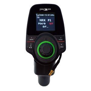 POPyourCAR 2.3 - dab adapter til bil, superenkel og trafikksikker