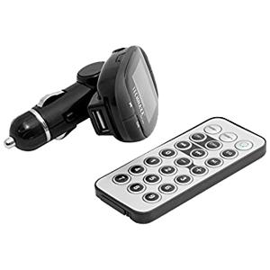 Technaxx TEC-4483 Technaxx FM Transmitter, LCD Screen, AUX, USB, with remote control, 87