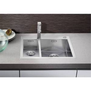 Blanco Zerox 340/180 IF/A 605x510 mm, for nedfelling/planliming