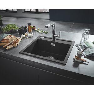 Grohe K700 Kjøkkenvask for nedfelling 780x510 mm, Sort Granitt kompositt