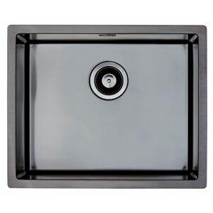 Lavabo Quadrix 50 Kjøkkenvask 550x450 Mm, Antrasitt