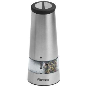 Bestron Elektrisk salt- og pepperkvernsett INOX APS544S