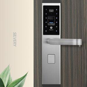 Security Door Lock Intelligent Door Lock Waterproof Touched Screen Anti-theft 100 Groups Fingerprint Password Door Lock