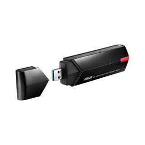 Asus - Trådløs Usb Wi-fi-adapter - Usb-ac68 Ac1900 Dual-bånd - Sort