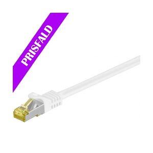 Velleman GOOBAY S/FTP netværkskabel CAT7, PiMF, Halogenfri, Hvid ( nettverkskabel halogen
