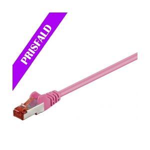 Velleman GOOBAY S/FTP netværkskabel CAT6 PIMF halogenfri, nettverkskabelen nettverkskabel