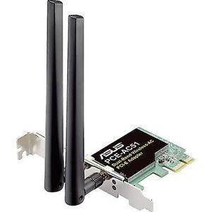 Asus PCE-AC51 Wi-Fi-kort PCI-Express, Wi-Fi 750 Mbps