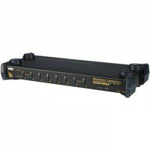 Aten NEDIS, 8-Port KVM Switch Sort