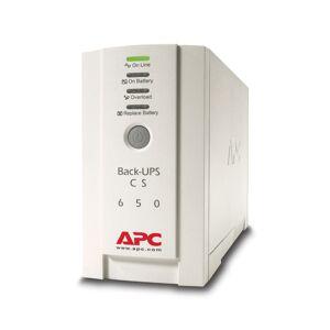 APC Back-UPS CS 650, 650VA 400W, 4 Liitäntää, Com-port