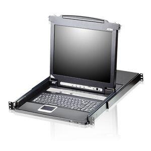 "Aten 8 Port 19"" LCD KVMP Switch,"