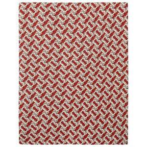 Burberry Monogram Teppe Vermillion Red