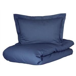 Turiform sengetøy til kingsize-dyne - Organic bomull sateng - Mørk blå - 240x220 cm
