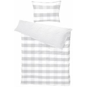 Borås Cotten Borås Cotton - 100% Bomulls sengetøy - Hofsnäs lys grå - 140x220 cm