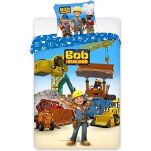 Borg Design Bob the builder - Junior Påslakanset - 100x140 cm