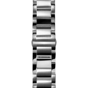 Trendhim 24mm Sølvfarvet Urrem i Rustfrit Stål – Quick Release