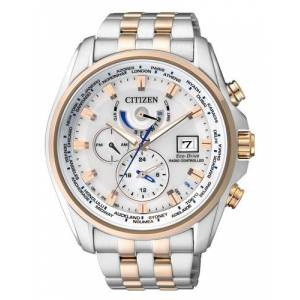 Citizen RADIOSTYRET HERREUR MED ECO DRIVE AT9034-54A