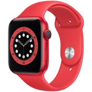 Apple Watch Series 6 GPS + Cellular punainen alumiinikuori 44 mm punainen urheiluranneke M09C3KS/A  - unisex