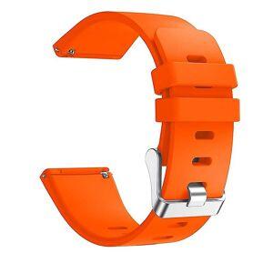 eStore Klokkerem kompatibel med Fitbit versa Oransje S