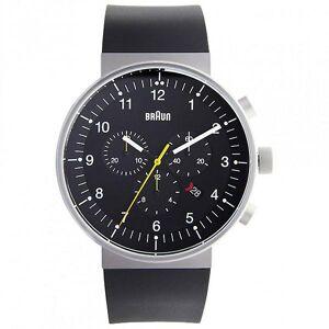 Braun Watches Black Rubber Mens Watch Bn0095bkslbkg