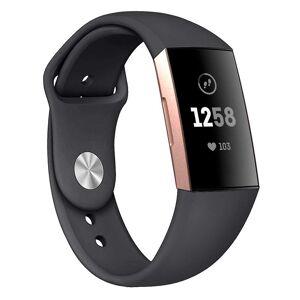 eStore Silikon armbånd kompatibelt med Fitbit charge 3