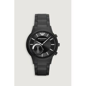 Giorgio Armani Klocka Emporio Armani Hybrid Watch Svart