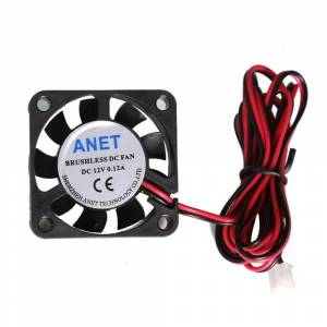 Anet A8 A6 4010 FAN 12V 24V Circuit Board Heat Cooler Ventilator Small Fan Brushless DC Cooling Fan 2pin For 3D Printer