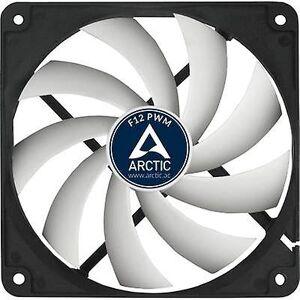 Arctic F12 PWM rev 2.0 PC fan svart, hvit (B x H x D) 120 x 120 x 25 mm