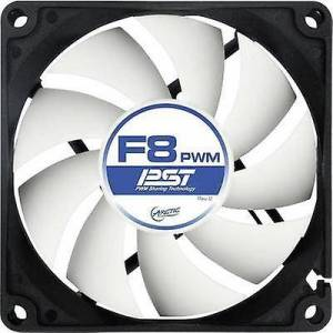 Arctic F8 PWM PST PC fan svart (B x H x D) 80 x 80 x 25 mm
