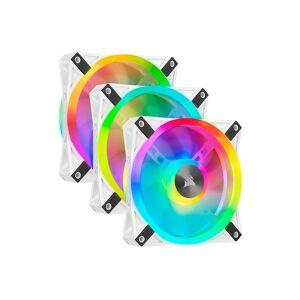 Corsair QL120 RGB Hvit Trippel Viftepakke