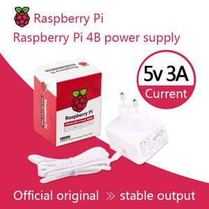Raspberry Pi 15.3W USB-C Power Supply The official and recommended USB-C power supply for Raspberry Pi 4