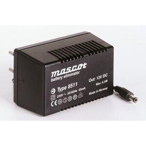 230VAC-15VDC Strømforsyning 0.4A/6.5W AC/DC Mascot 8511