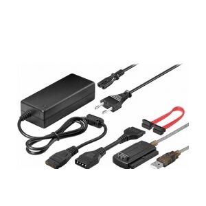 GOOBAY USB 2.0 SATA/IDE HDD konverter m. strømforsyning kalkulator converter
