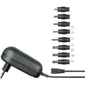 VOLTCRAFT SPS24-24W strømforsyningsenhet (justerbar spenning) 9 V DC, 12 V DC, 13,5 V DC, 15 V DC, 18 V DC, 20 V DC, 24 V DC 1000 mA 24 W