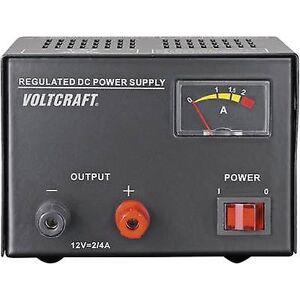 VOLTCRAFT FSP-1122 benk PSU (fast spenning) 12 V DC 2 A 25 W nei. av utganger 1 x